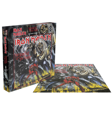 IRON MAIDEN - 'The Number Of The Beast' Puzzle