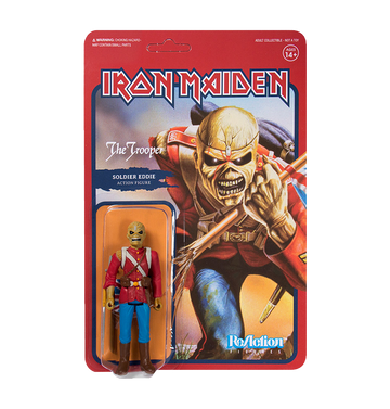 IRON MAIDEN - 'The Trooper' ReAction Figure
