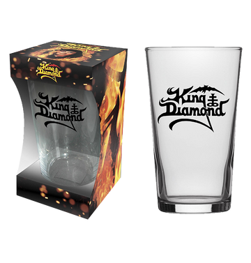 KING DIAMOND - 'Logo' Beer Glass