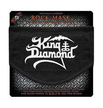 KING DIAMOND - 'Logo' Face Mask
