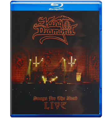 KING DIAMOND - 'Songs For The Dead' Bluray