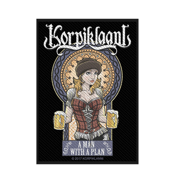 KORPIKLAANI - 'A Man With A Plan' Patch