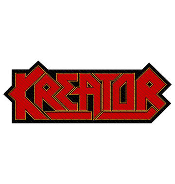 KREATOR - 'Logo Cutout' Patch