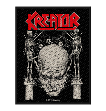 KREATOR - 'Skull & Skeletons' Patch