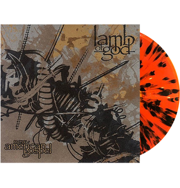 LAMB OF GOD - 'New American Gospel' LP