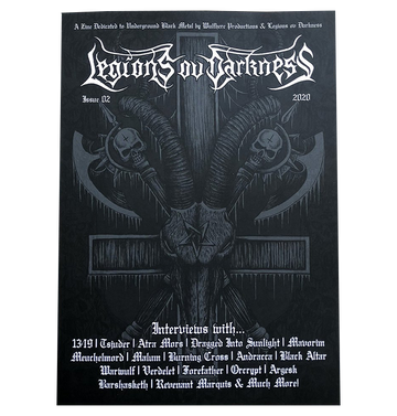 'Legions Ov Darkness Issue 2' Magazine