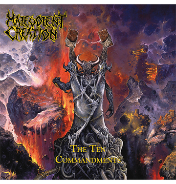 MALEVOLENT CREATION - 'The Ten Commandments' DigiCD