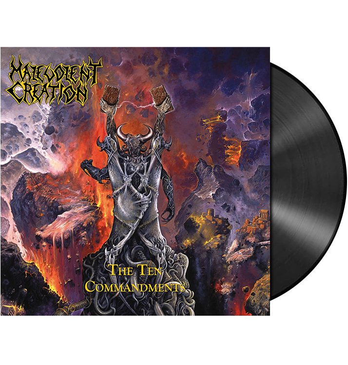 MALEVOLENT CREATION - 'The Ten Commandments' LP