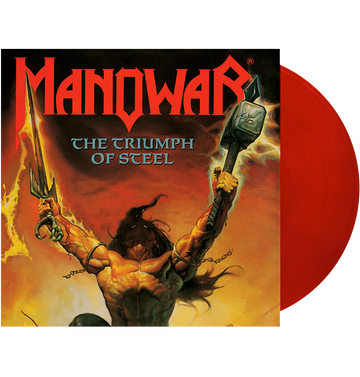 MANOWAR - 'Triumph Of Steel' 2xLP