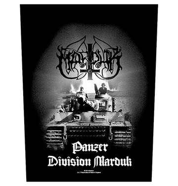 MARDUK - 'Panzer Division' Back Patch