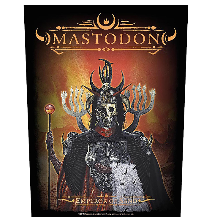 MASTODON - 'Emperor Of Sand' Back Patch