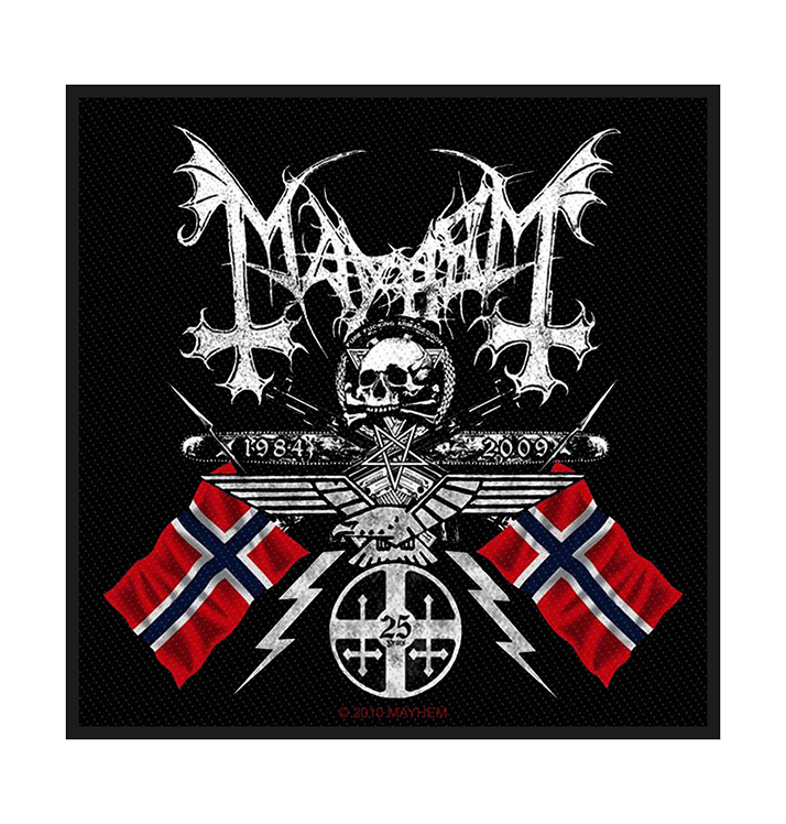 MAYHEM - 'Coat Of Arms' Patch