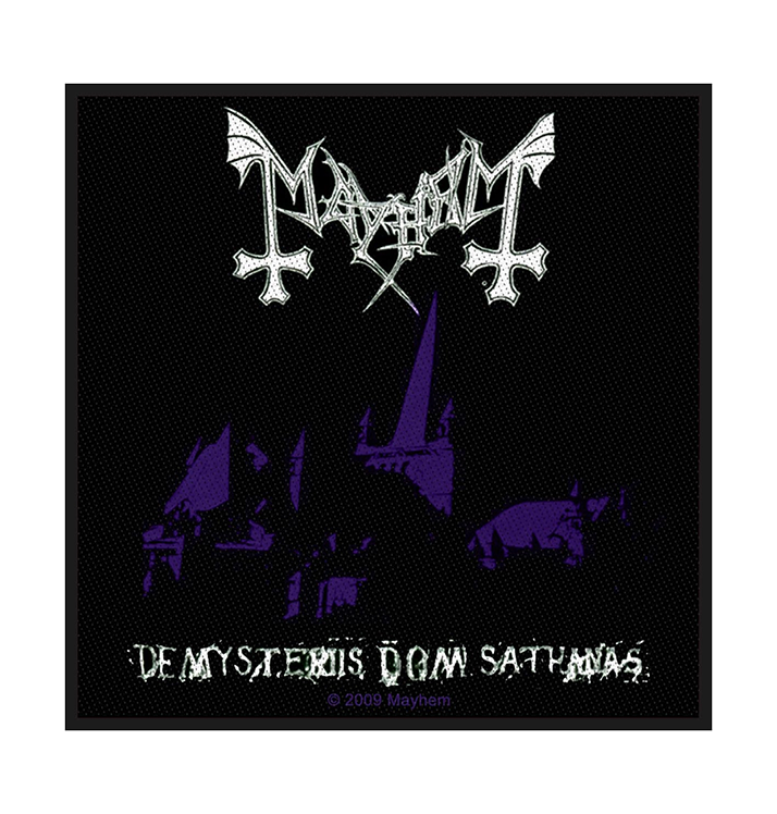 MAYHEM - 'De Mysteriis Dom Sathanas' Patch