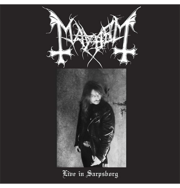 MAYHEM - 'Live in Sarpsborg' CD/DVD