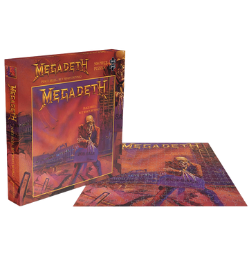 MEGADETH - 'Peace Sells...But Who's Buying?' Puzzle