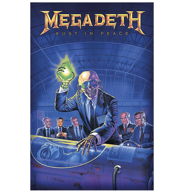 MEGADETH - 'Rust in Peace' Flag