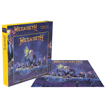 MEGADETH - 'Rust In Peace' Puzzle