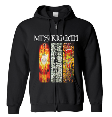 MESHUGGAH - 'Destroy Erase Improve' Zip-Up Hoodie