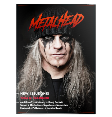 'Metalhead Issue 1' Magazine