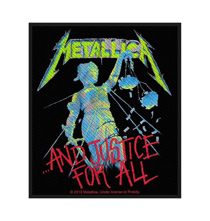 METALLICA - 'And Justice For All' Patch
