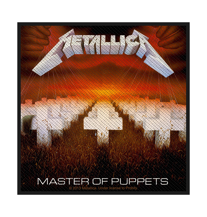 METALLICA - 'Master Of Puppets' Patch