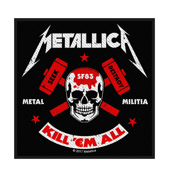 METALLICA - 'Metal Militia' Patch