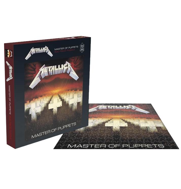 METALLICA - 'Master Of Puppets' Puzzle