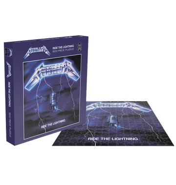 METALLICA - 'Ride The Lightning' Puzzle