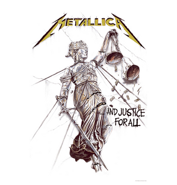 METALLICA - 'And Justice For All' Flag