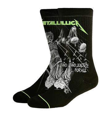 METALLICA - '...And Justice For All' Socks