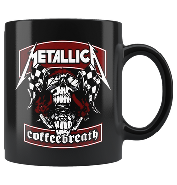 METALLICA - 'Coffeebreath' Mug