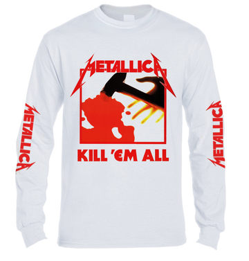 METALLICA - 'Kill 'Em All' Long Sleeve