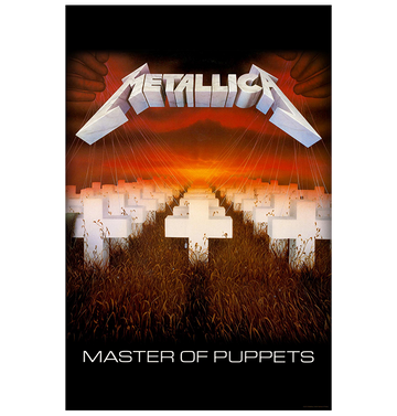 METALLICA - 'Master of Puppets' Flag