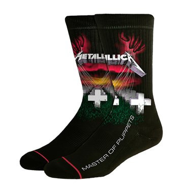 METALLICA - 'Master Of Puppets' Socks