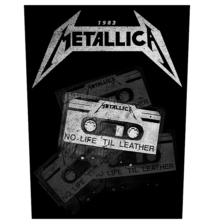 METALLICA - 'No Life 'Til Leather' Back Patch