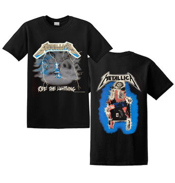 METALLICA - 'Ride The Lightning' T-Shirt