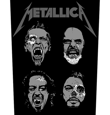 METALLICA - 'Undead' Back Patch