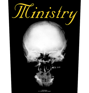 MINISTRY - 'The Mind is a Terrible Thing to Taste' Back Patch