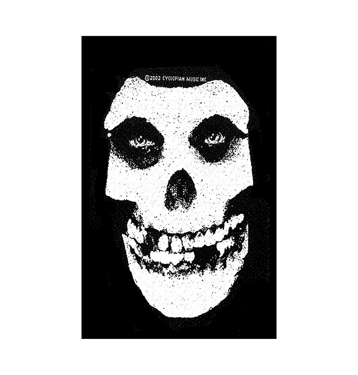MISFITS - 'White Skull' Patch
