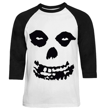 MISFITS - 'All Over Skull' Raglan
