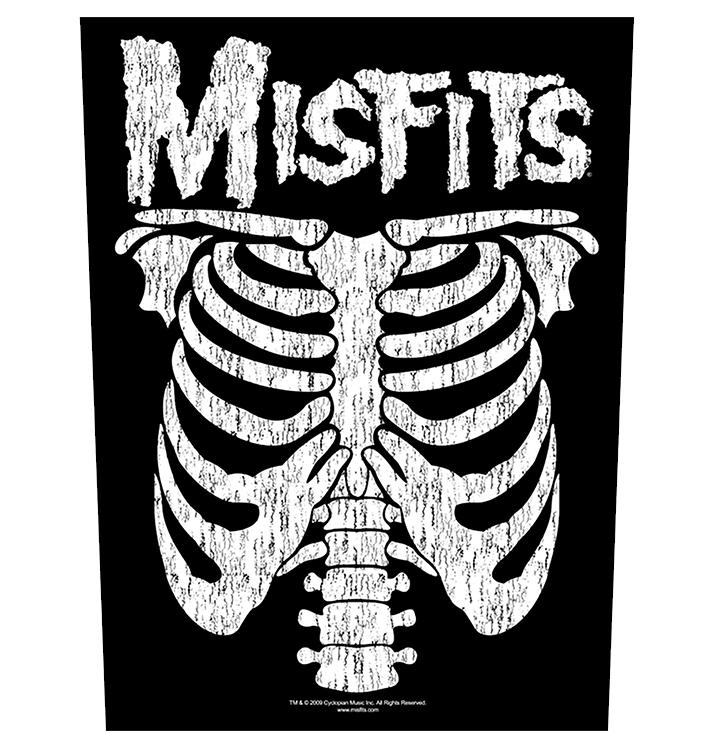 MISFITS - 'Ribcage' Back Patch