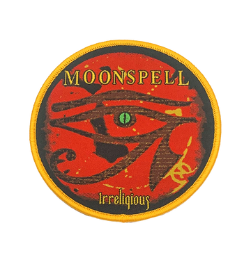 MOONSPELL - 'Irreligious (Yellow Edging)' Patch