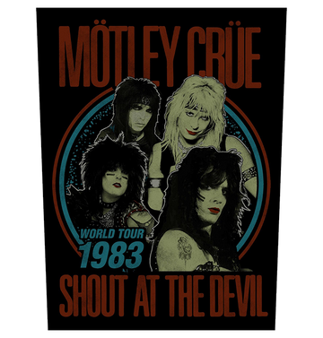 MÖTLEY CRÜE - 'Shout At The Devil' Back Patch