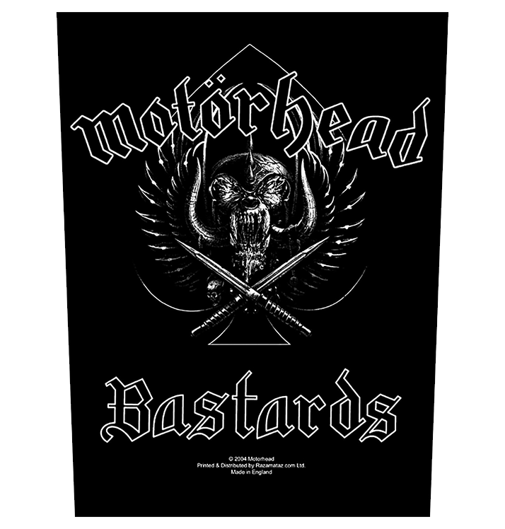MOTÖRHEAD - 'Bastards' Back Patch