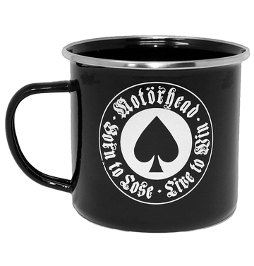 MOTÖRHEAD - 'Born to Lose' Enamel Mug