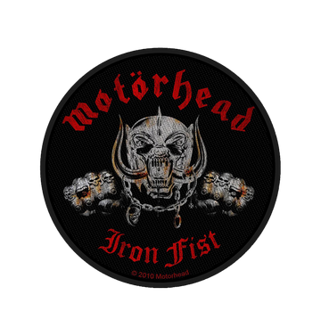 MOTÖRHEAD - 'Iron Fist / Skull' Patch