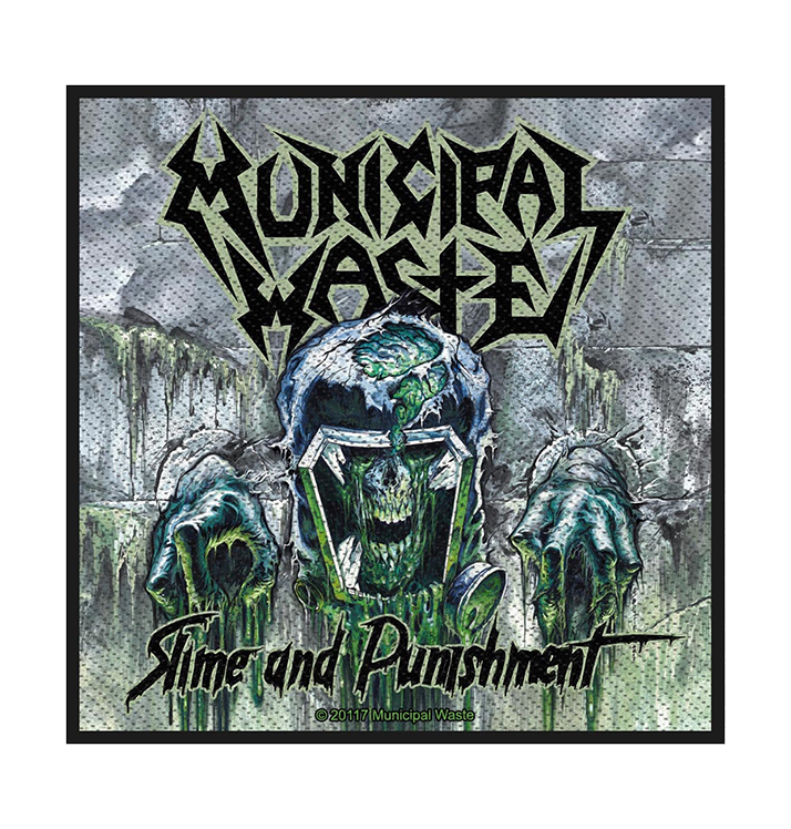 MUNICIPAL WASTE - 'Slime And Punishment' Patch