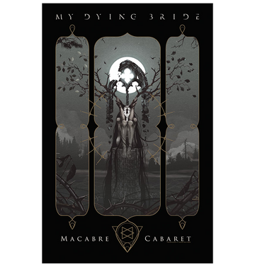 MY DYING BRIDE - 'Macabre Cabaret' Flag