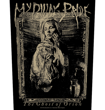 MY DYING BRIDE - 'The Ghost of Orion Woodcut' Back Patch