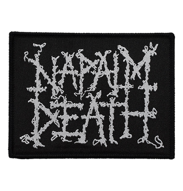 NAPALM DEATH - 'Logo' Patch